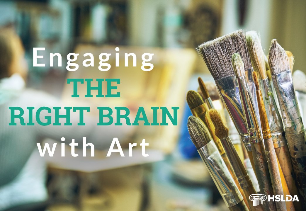 Engaging the right brain with art