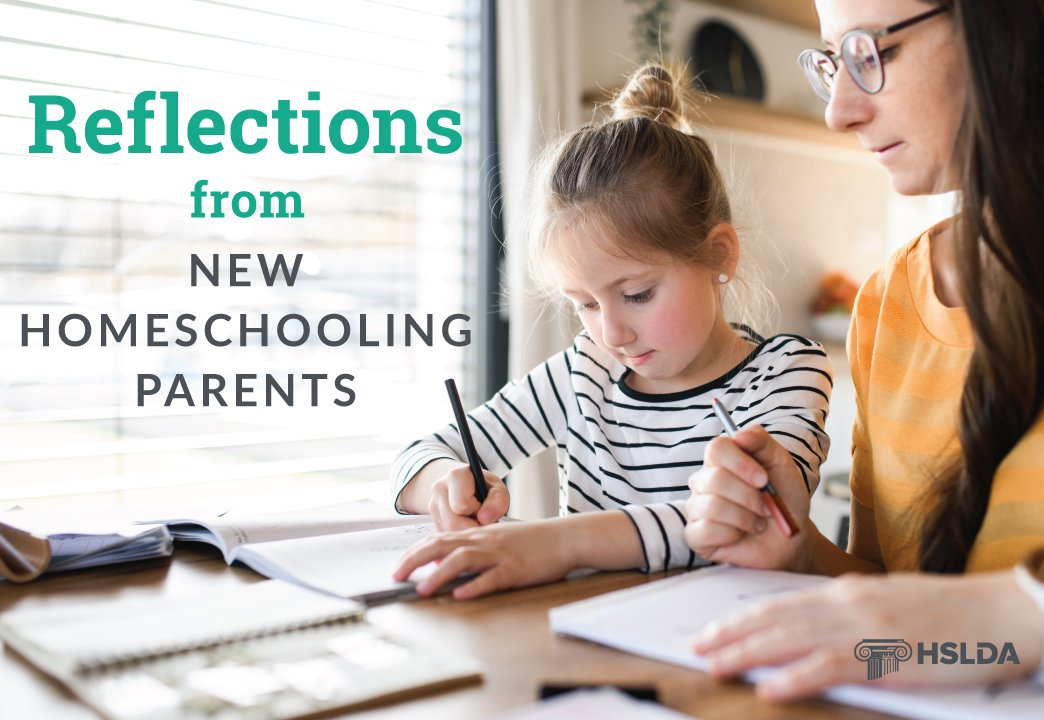 Reflections from new homeschooling parents
